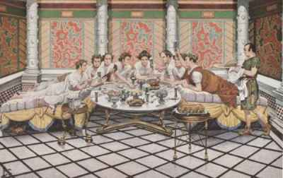 Dinner in the Triclinium